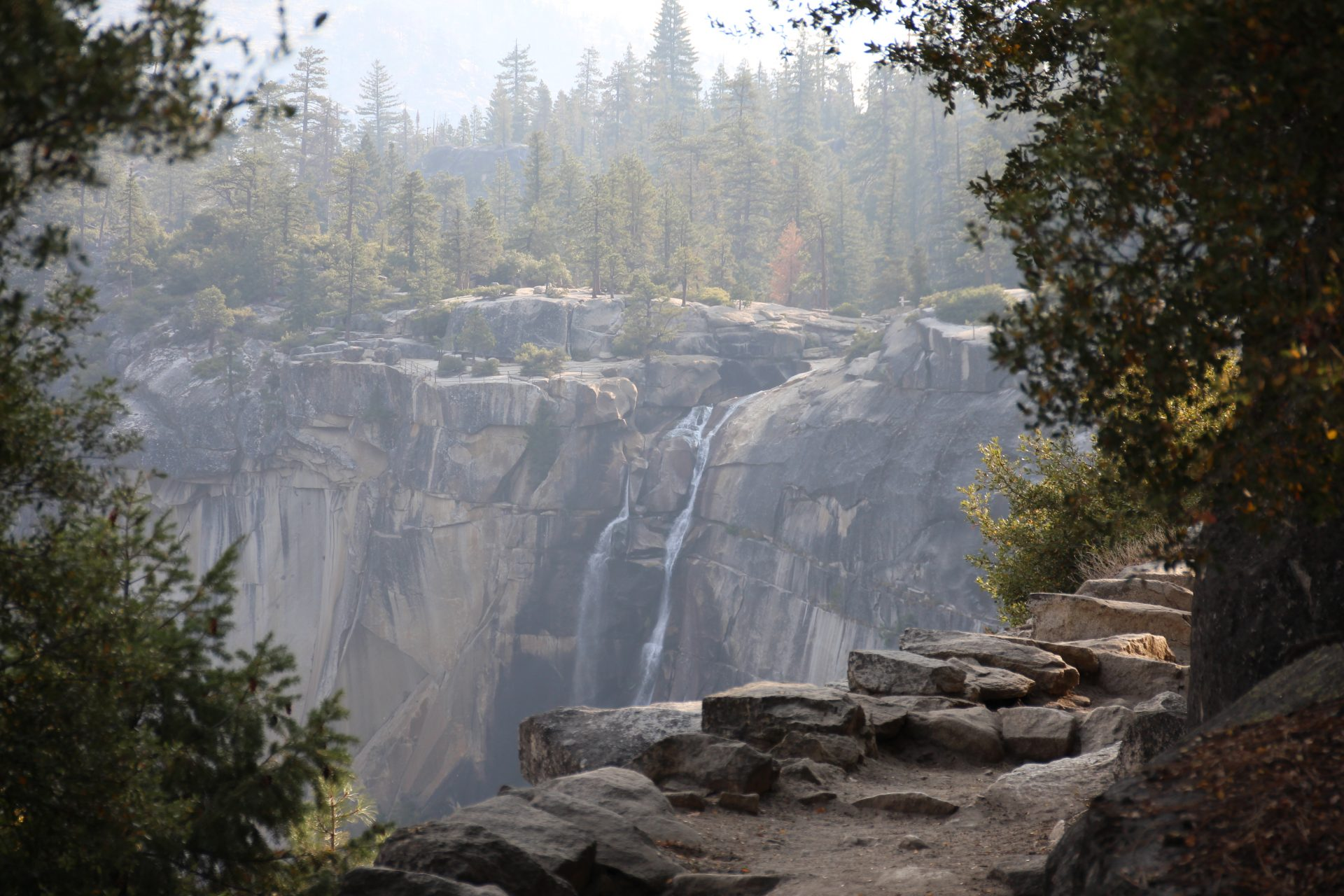 Vernal Falls im Yosemite Nationalpark